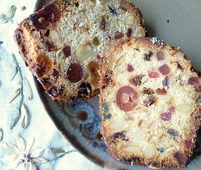 Light Fruitcake Tastes Like Christmas Pinterest Cake