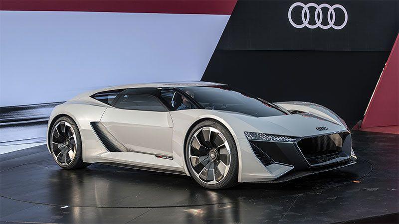 Next Generation Audi R8 Rumored To Be All Electric Super Cars Audi Audi Supercar