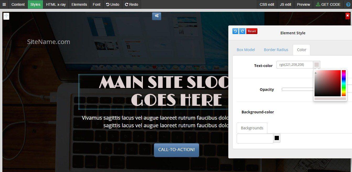 Bootstrap 3 Drag N Drop Blocks Drag Blocks Bootstrap Ad
