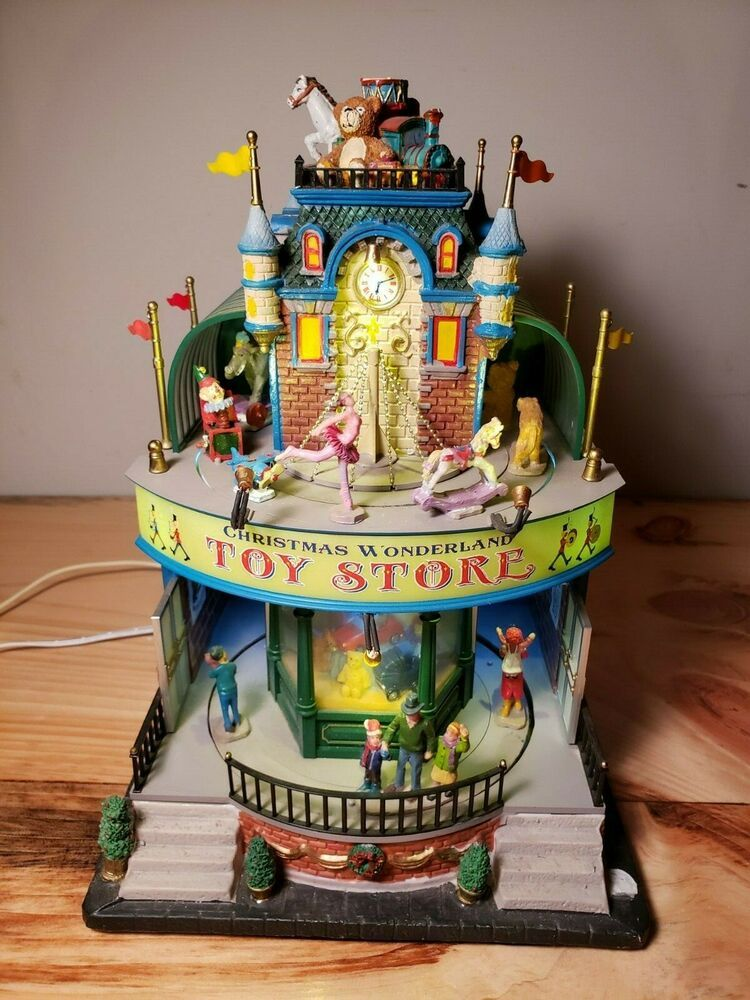 LEMAX-VILLAGE COLLECTION CHRISTMAS WONDERLAND TOY STORE in ...