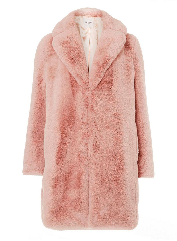 Pink Faux Fur Coat Pink Faux Fur Coat Fur Coat Coat [ 1360 x 1000 Pixel ]