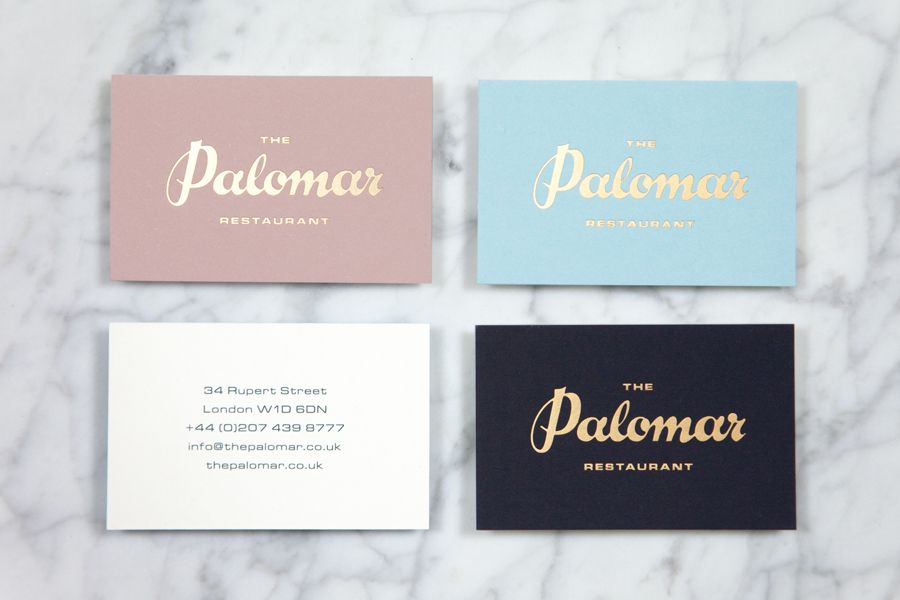 New Brand Identity for The Palomar by Here - BP&O | Detail design ...