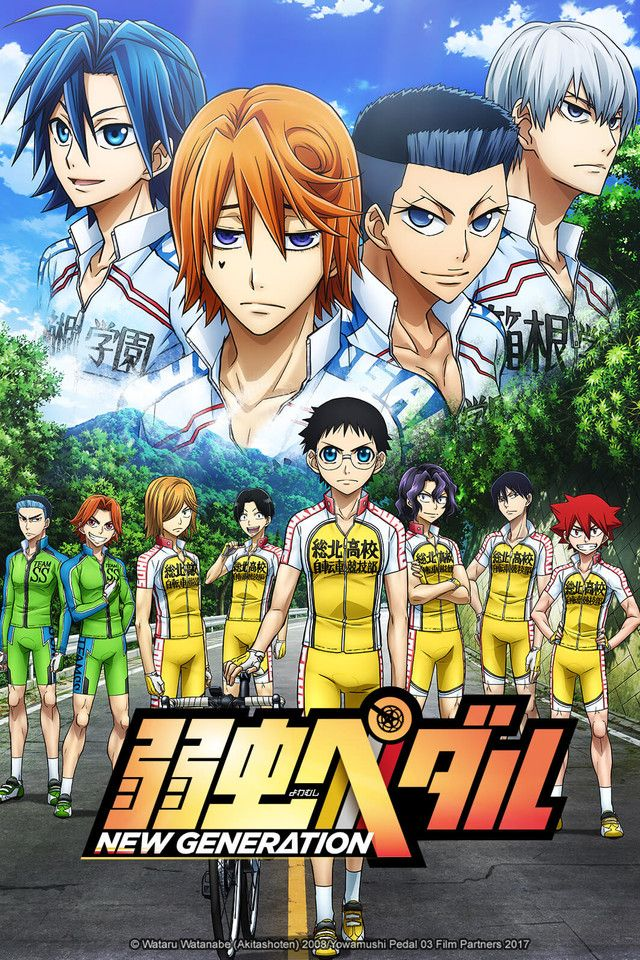 Yowamushi Pedal New Generation Genres Comedy Sports Drama Shounen