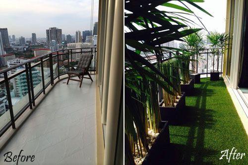 Bangkok Balcony Garden Designs | Balcony Gardens | Pinterest