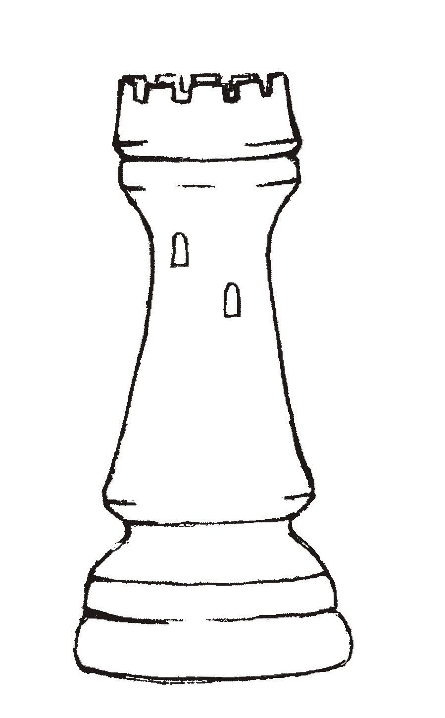 Chess Coloring Pages
