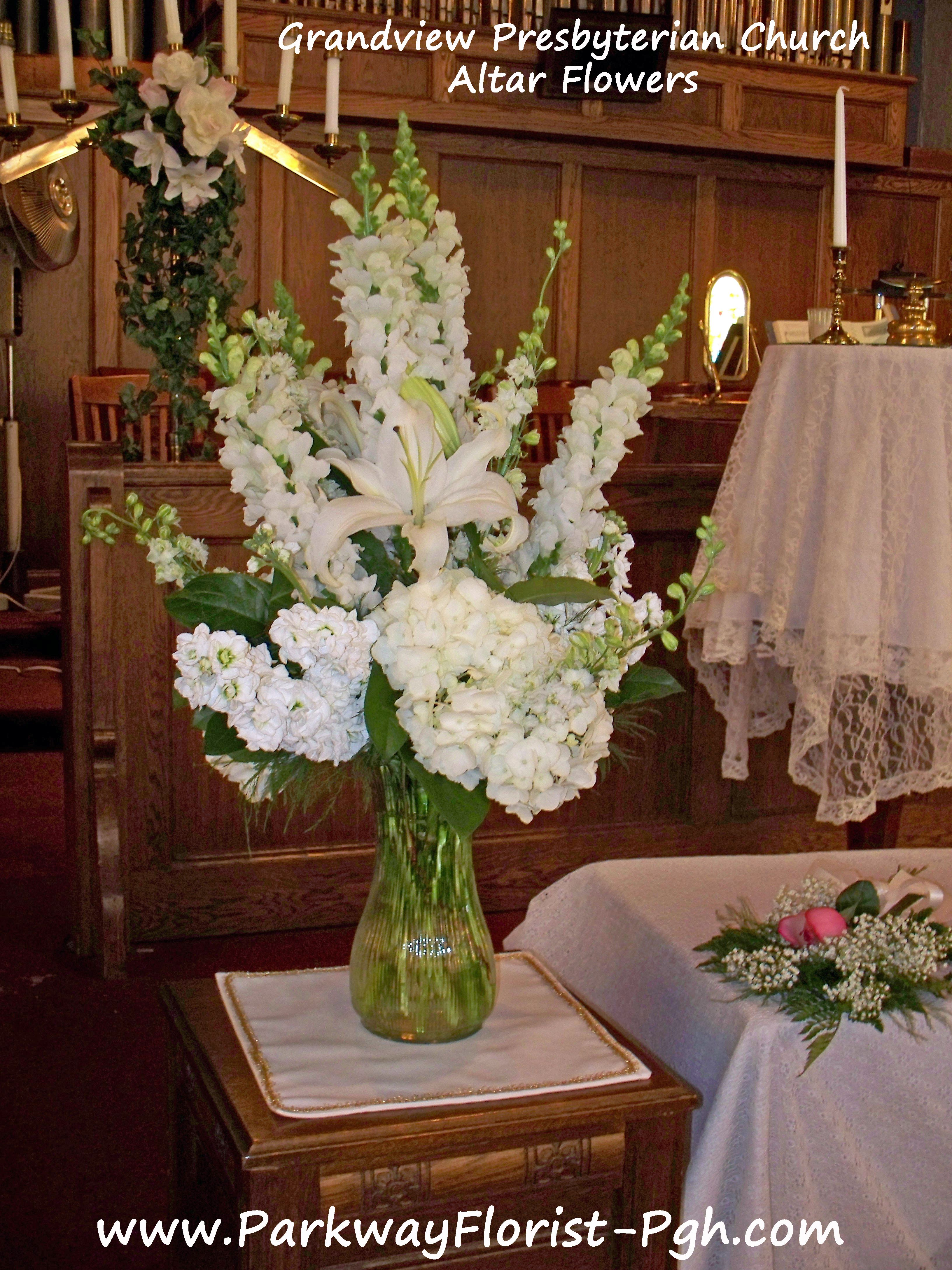 Silk Altar Arrangements Topsimages