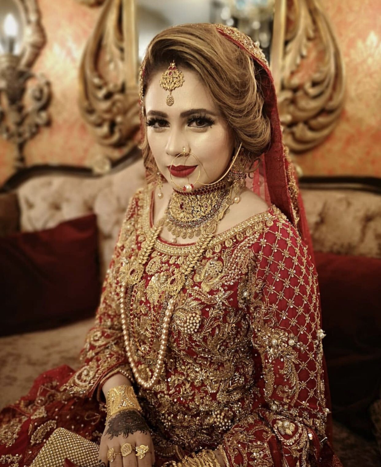 Hindu Bridal Hairstyles 14 Safe Hairdos For The Modern: Pin By Haseeb On Pakistani Bridal