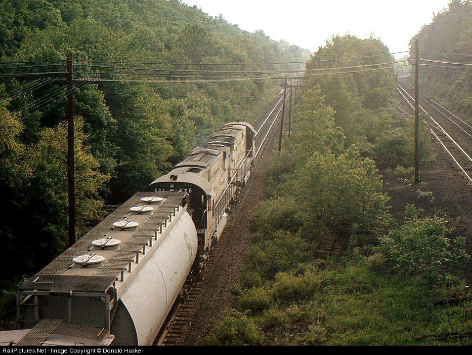LV 626 Lehigh Valley Alco C630 at Scranton, Pennsylvania