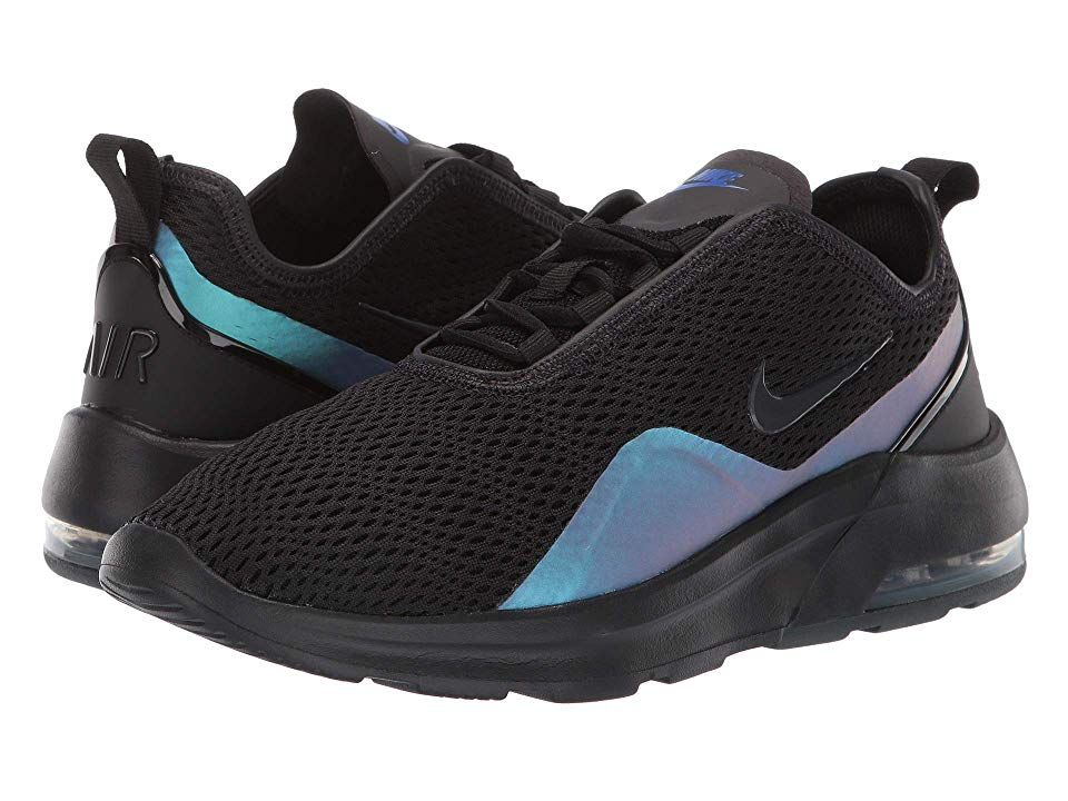 Nike Women's Air Max Motion 2 Running Shoes, BlackAnthracite Racer Blue