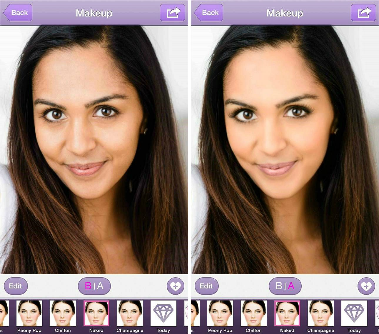 """#Perfect365 tip: For a gorgeous, natural look, try the """"Naked"""" Hotstyle. This & more in the #Perfect365 shop."""