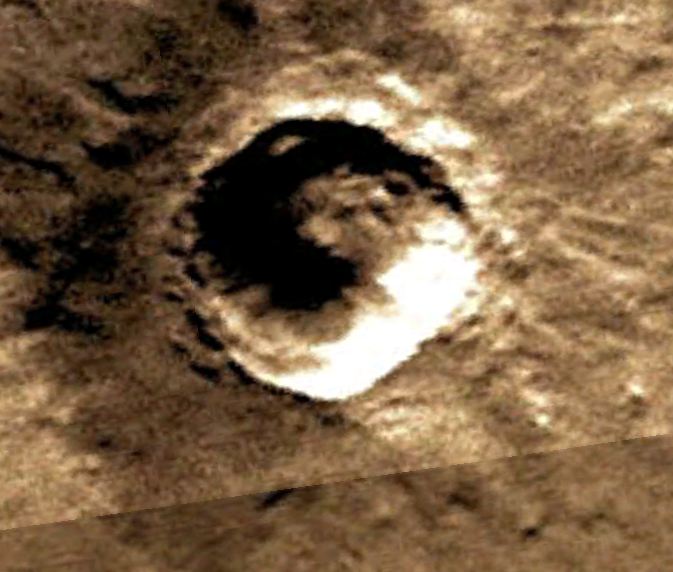 UFO On Mars | Firefox Symbol Discovered On Mars Surface In Crater, Jan 2013