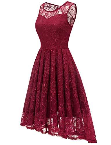 Gardenwed Womens Sleeveless Chiffon Long Bridesmaid Dress Semi-Formal Maxi Evening Dress