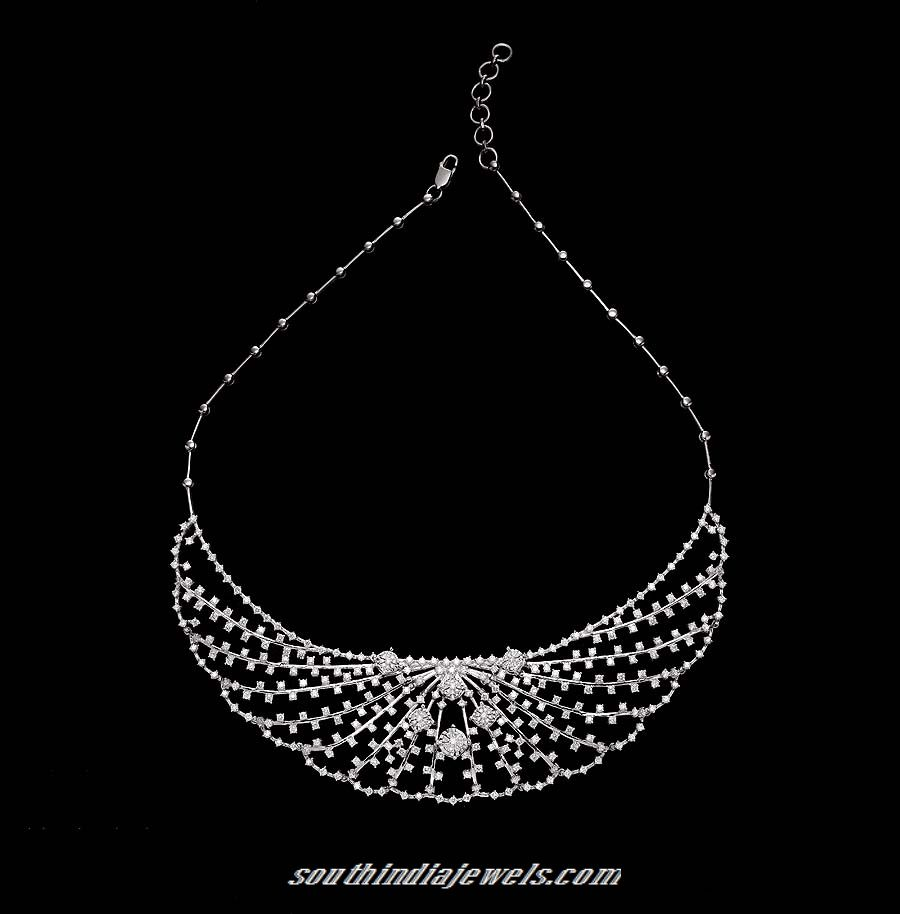 Tanishq diamond necklace diamond south india and necklace designs