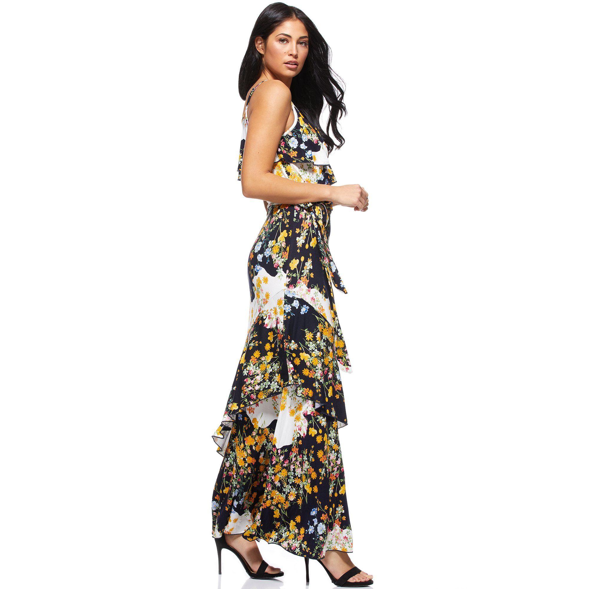 Sofia Jeans By Sofia Vergara Sofia Jeans By Sofia Vergara Faux Wrap Tossed Bouquets Maxi Dress Women S Walmart Com Maxi Dress Dresses Womens Maxi Dresses [ 2000 x 2000 Pixel ]