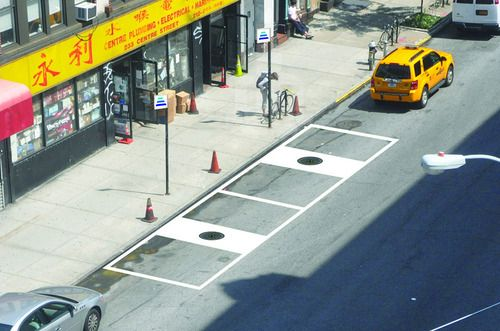 new york-based HEVO power addresses the increased popularity of sustainable transportation solutions among city dwellers by developing a wireless charging station for electric vehicles.