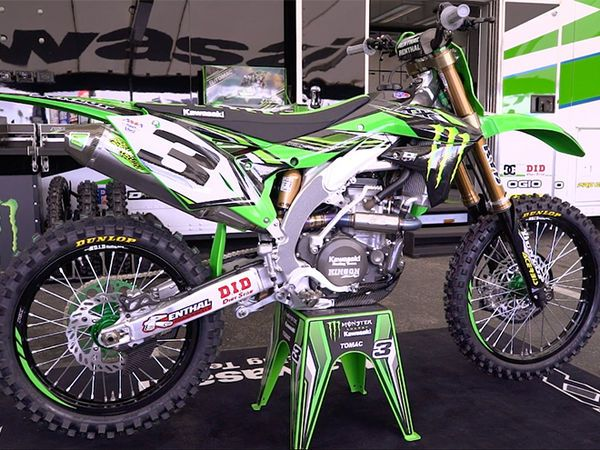 Check out this video feature on Factory Kawasaki rider Eli Tomac's