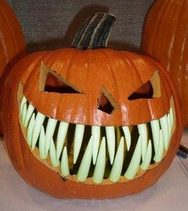 pumpkin template with fangs  Be the King or Queen of Halloween 7 With These Pumpkin ...
