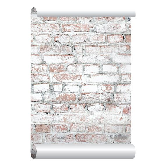 This Item Is Unavailable Etsy Brick Wallpaper Faux Brick Walls Brick Wallpaper Peel And Stick