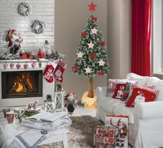 Choinka Sztuczna Na Pniu Sosna Diamentowa 180 Cm Christmas Decor Diy Christmas Decorations Christmas Diy