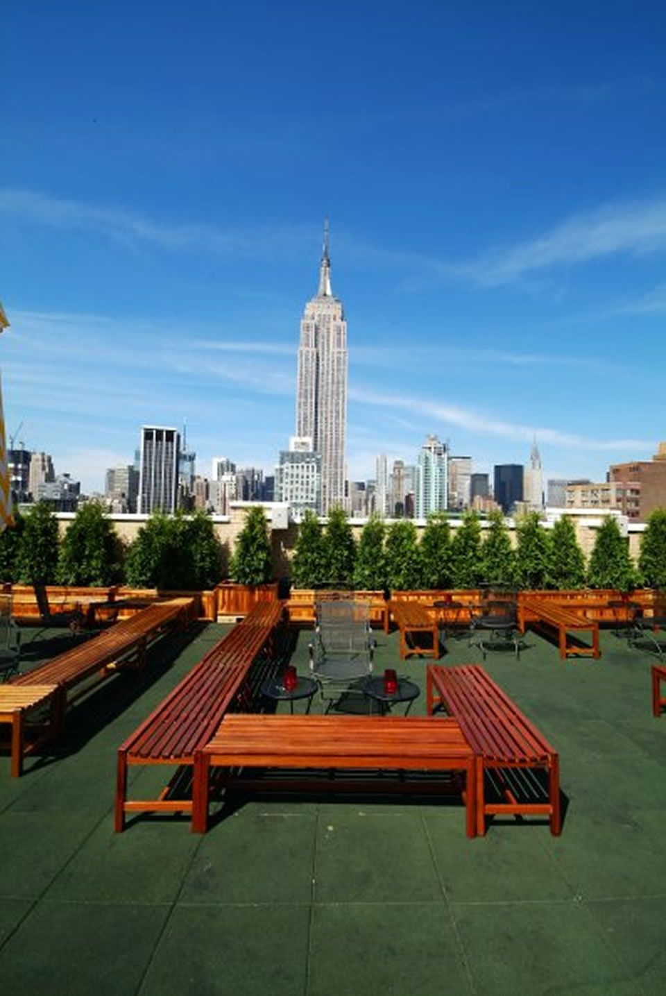 Restaurants Roof Terraces 230 5th Rubber Paving