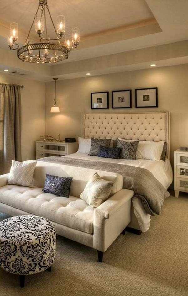 A Great Mix Of Moderntraditional And Moderncontemporary Bedroom Awesome Bedroom Design Ideas