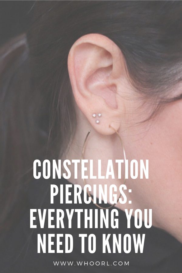 I had been all over Instagram coveting a triple-pierced lobe (check out #triplelobe for your viewing pleasure) but knew that it could be a more challenging piercing since placement and spacing are crucial, so I wanted to go to the best of the best. #earrings #style #piercings #style