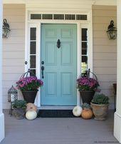 Door Color Ideas: 10 Pretty Blue Doors- Door Color Ideas: 10…