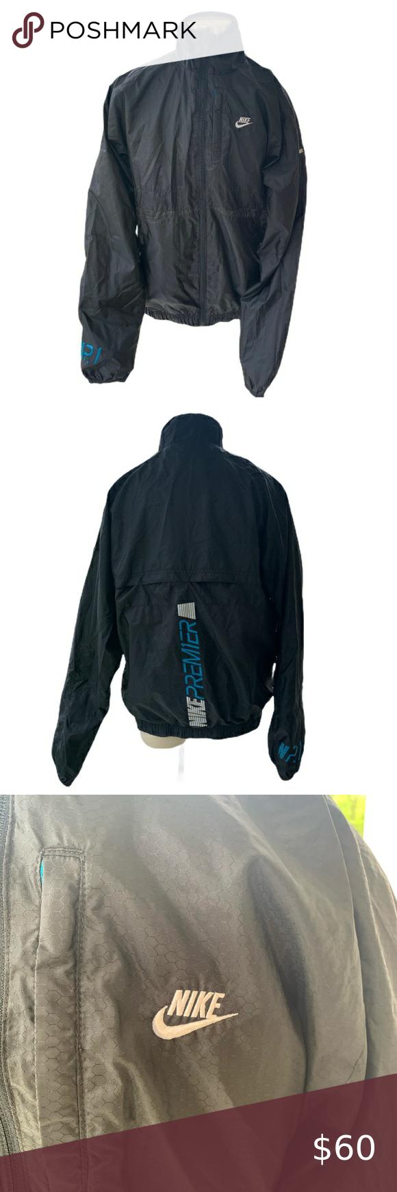 Nike Premiere Jacket In 2020 Jackets Vintage Nike Black Jacket