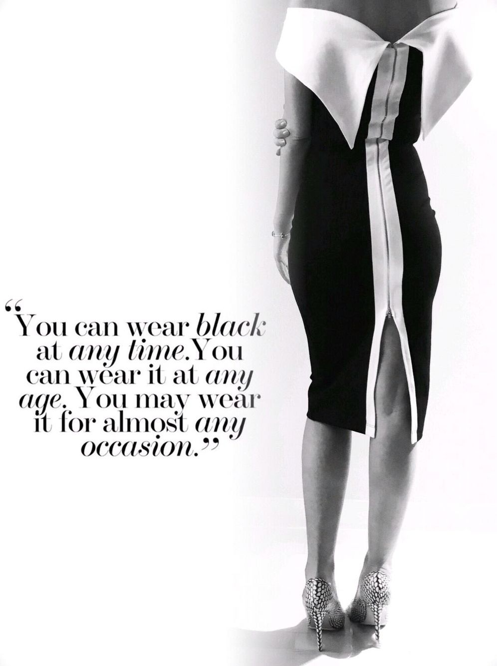 All About Black Color Black Quotes About Black Black And White Dress White Dress Quotes Black N White Dress Black Quotes [ 1334 x 996 Pixel ]