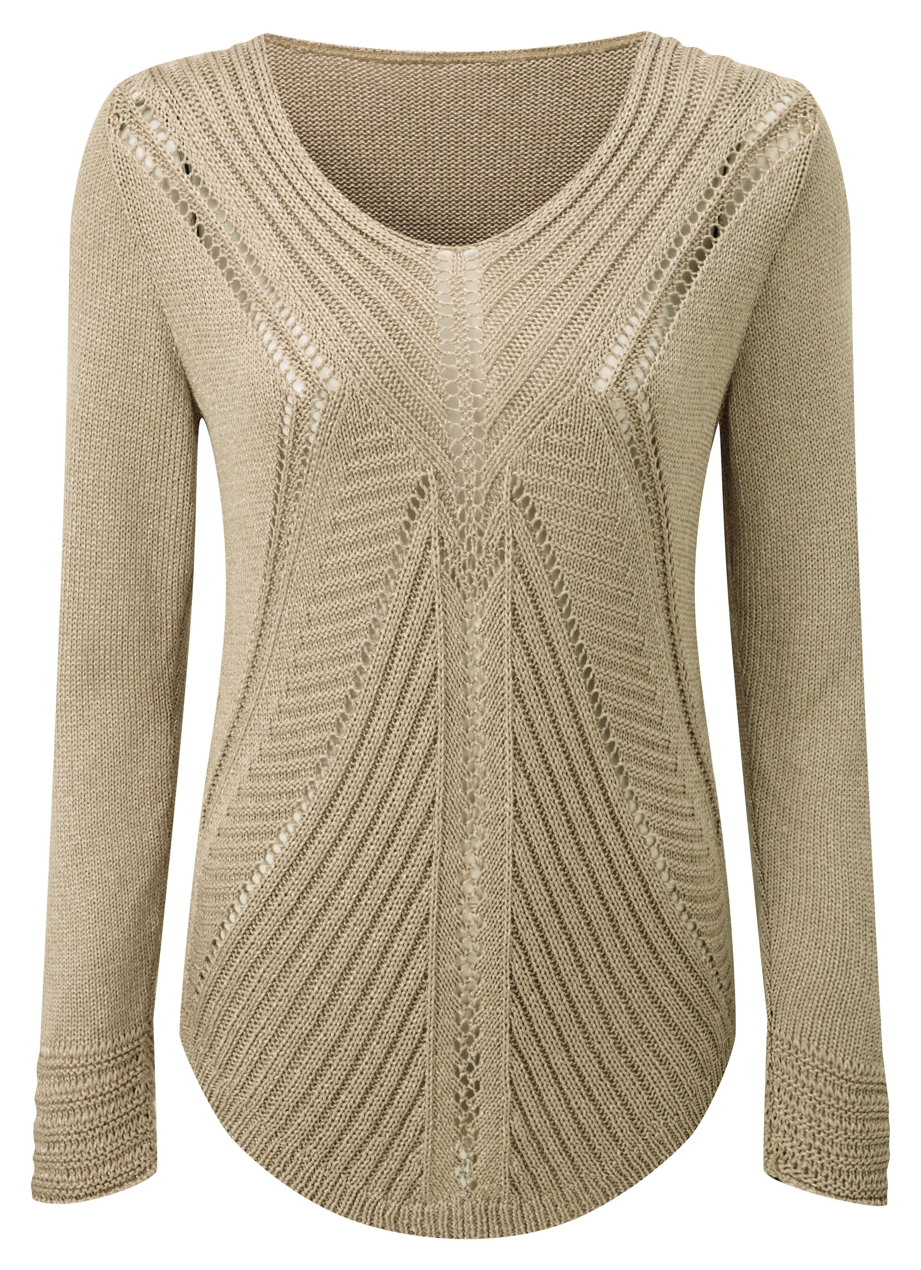 Damart Gold Pointelle Sweater Product Code B675 Www Damart Co Uk Pointelle Sweater Sweaters Gold Sweater
