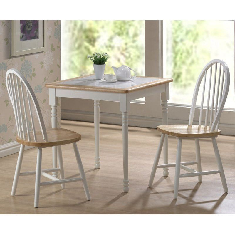 Indoor Kitchen Bistro Sets Top Square 3 Piece Small Dinette Set At Hayneedle