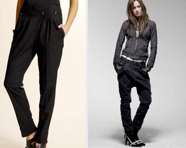 Knickers: Pantalones cerrados por debajo de la rodilla.