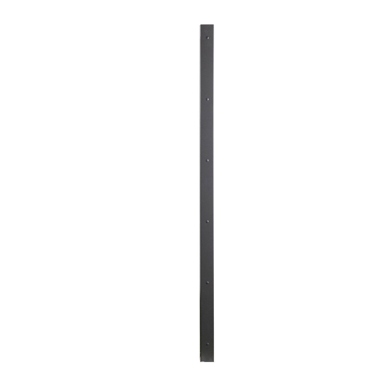 Poteau Aluminium A Visser L 7 4 X P 7 7 X H 193 Cm Ideanature Poteau