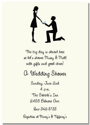 Image result for couples wedding shower invitation wording