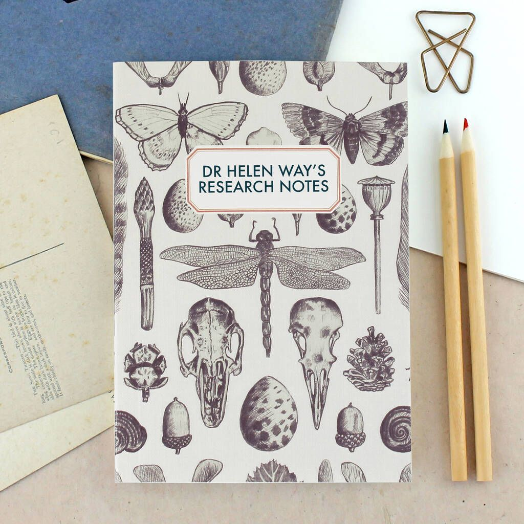 Photo of Personalised Natural History Notebook