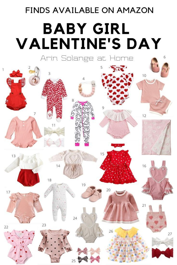 Photo of Baby Girl Valentine's Day Outfits – arinsolangeathome