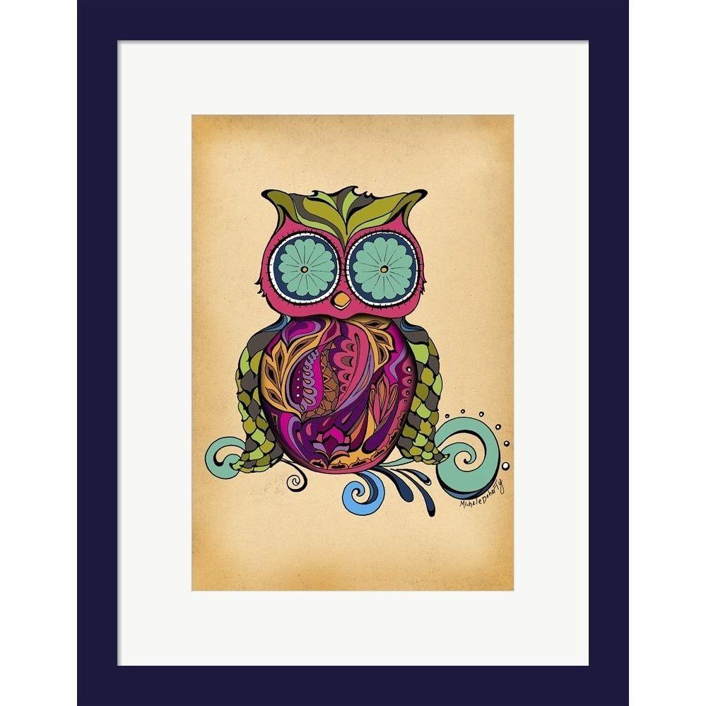 Green Girl Canvas \'Owl\' Framed Art   Products   Pinterest   Online ...