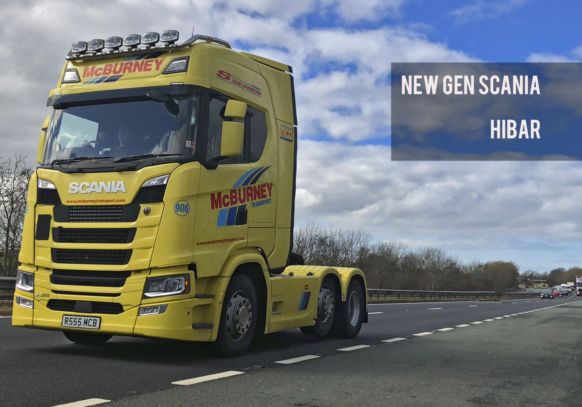Scania s series accessories