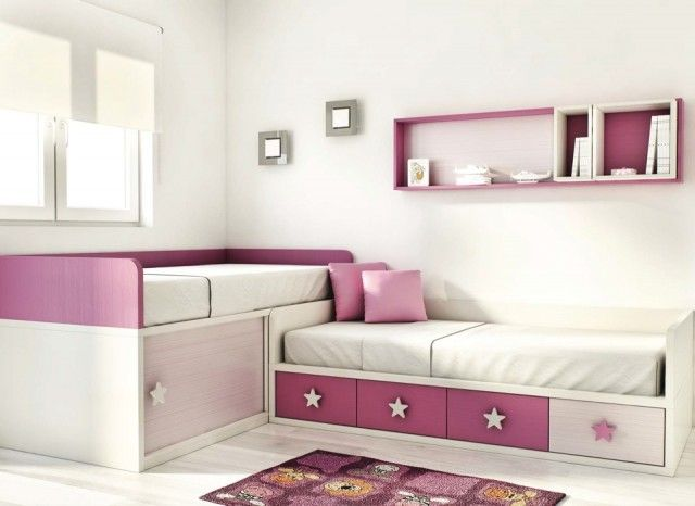 mueble dormitorio infantil juvenil dos camas palencia