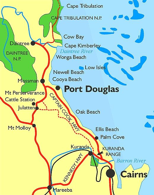 Australia S Cape Tribulation And Daintree Coast Rainforest