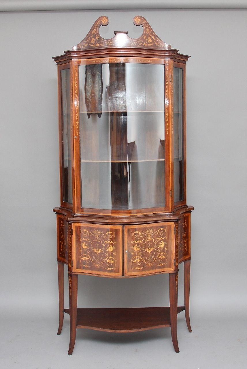19th Century Mahogany Cabinet By Edwards Roberts Mahogany