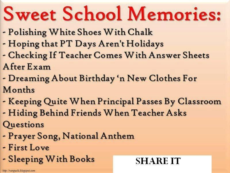 quotes on memories of school life google search back to school
