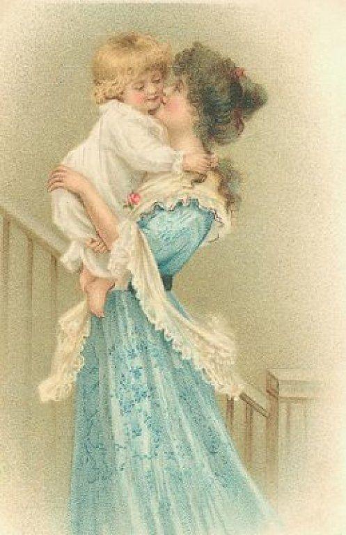 Винтажный картинки ко дню матери