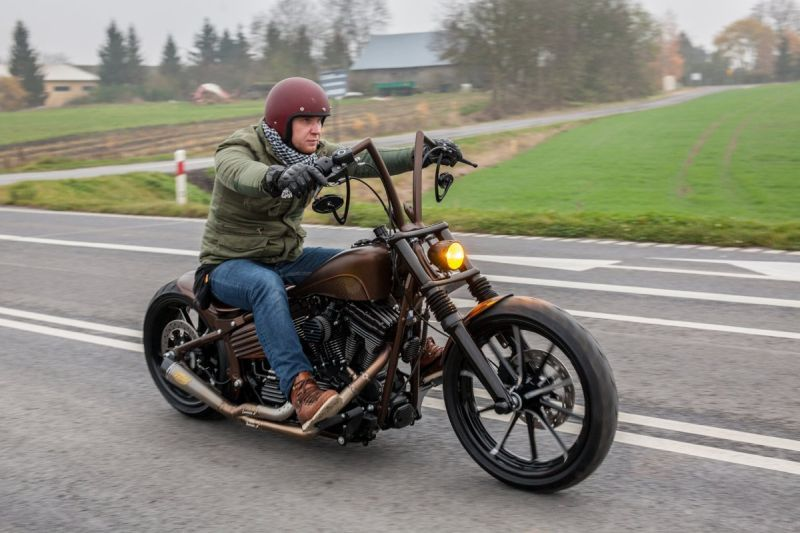 Softail Rocker Ape Hanger Obsession By Nine Hills Motorcycles