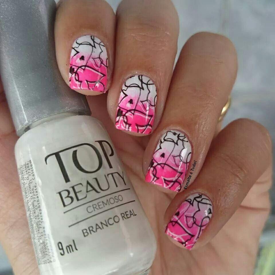 Www.esmalteetudo.blogspot.com.br | Nail patterns, Cool ...