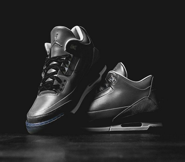 check out 60671 4b762 Air Jordan III 5LAB3-Black-Black-Clear (May 2014) Preview