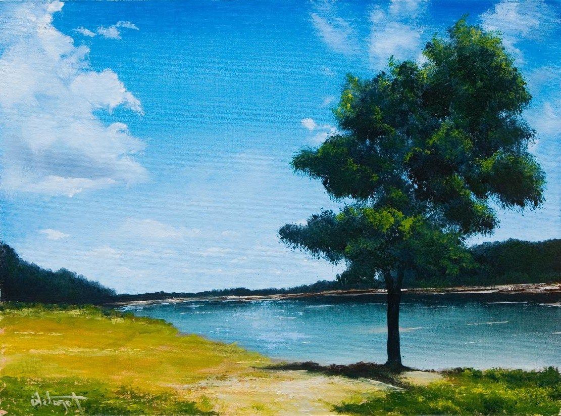 Scenery Drawing With Oil Pastels Oil Pastel Drawings On Pinterest Oil Painting Landscape Scenery Paintings Oil Pastel Landscape