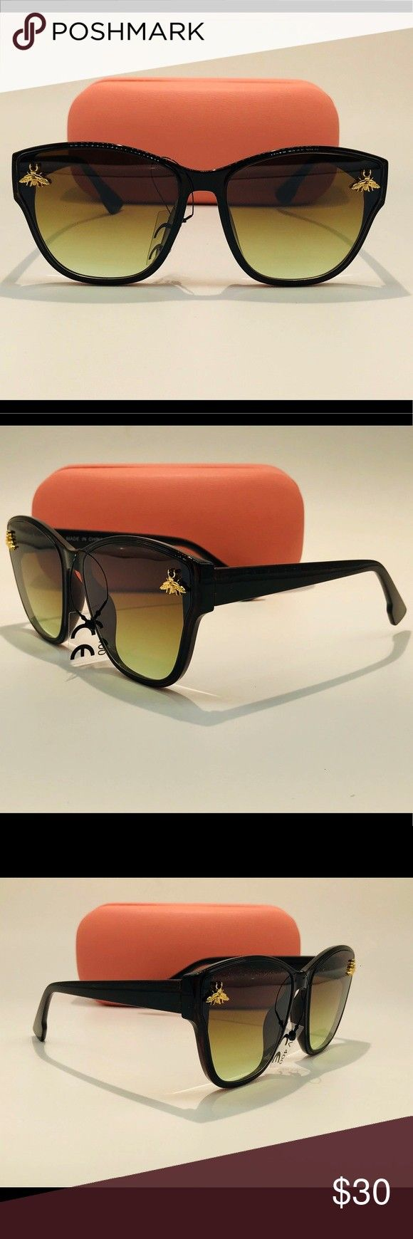Shades Stylish Shades A ll Sunglasses include the following 1Pair of Sunglasses 1 Hard Carrying Case 1Soft Carrying Case that doubles as a cleaning cloth Accessories Sung...