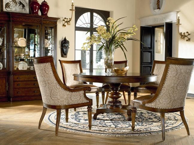 Ernest Hemingway Collection Dining Table Part Of The By Thomasville
