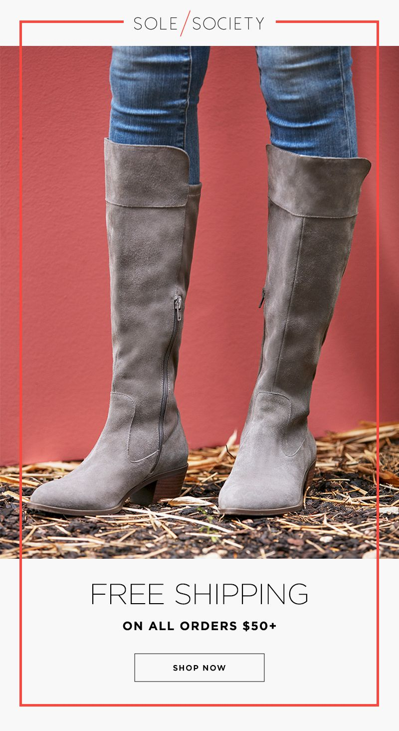 6963330ba6ea The classic tall boot with a stacked block heel and stitching details. The  Noamie boot brings subtle western appeal to your look. Shop now at Sole  Society!